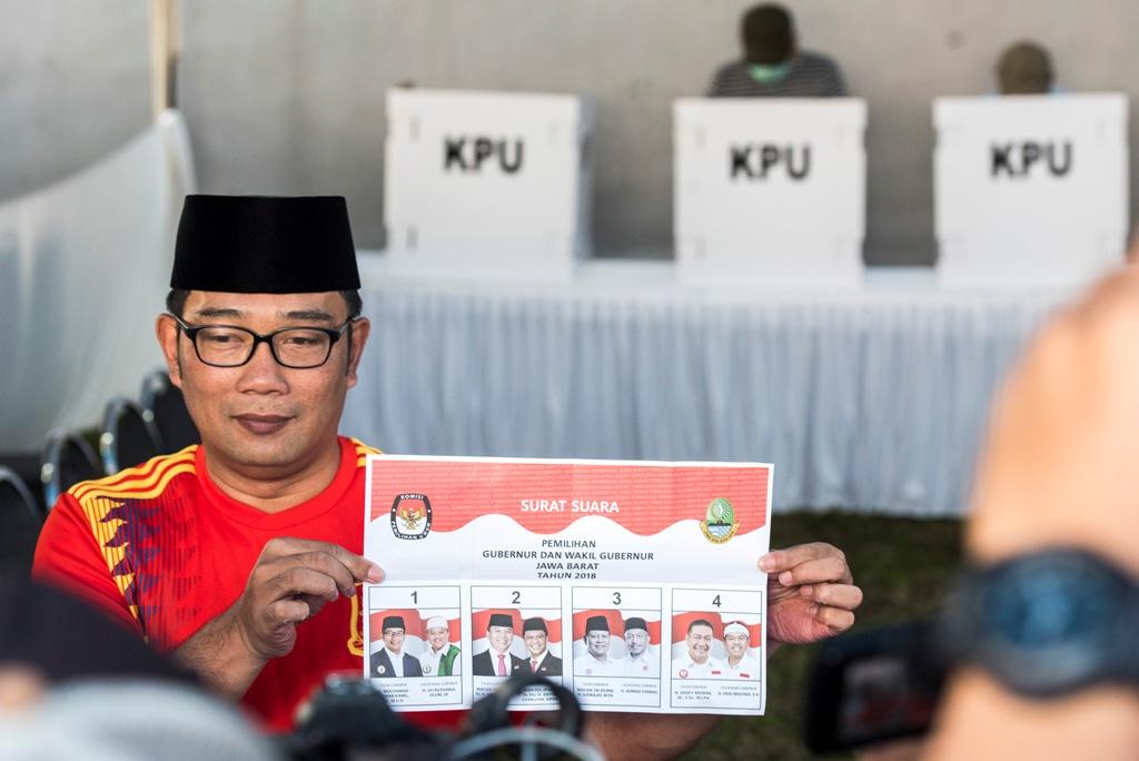 Ridwan Kamil Isyaratkan Dukung Jokowi di Pilpres 2019