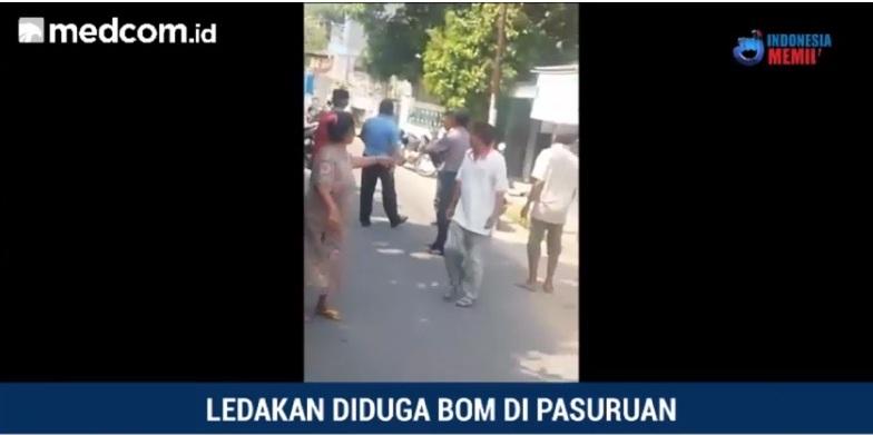 Polda Selidiki Jenis Bom di Pasuruan