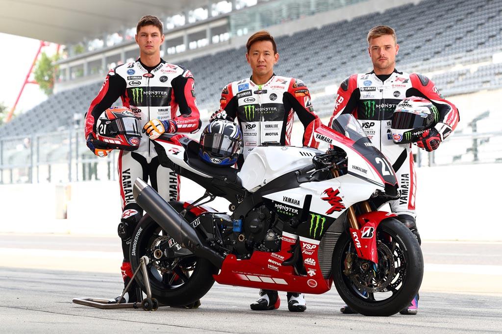 Kelir 20 Tahun YZF-R1 Tim Yamaha di Suzuki 8 Hours