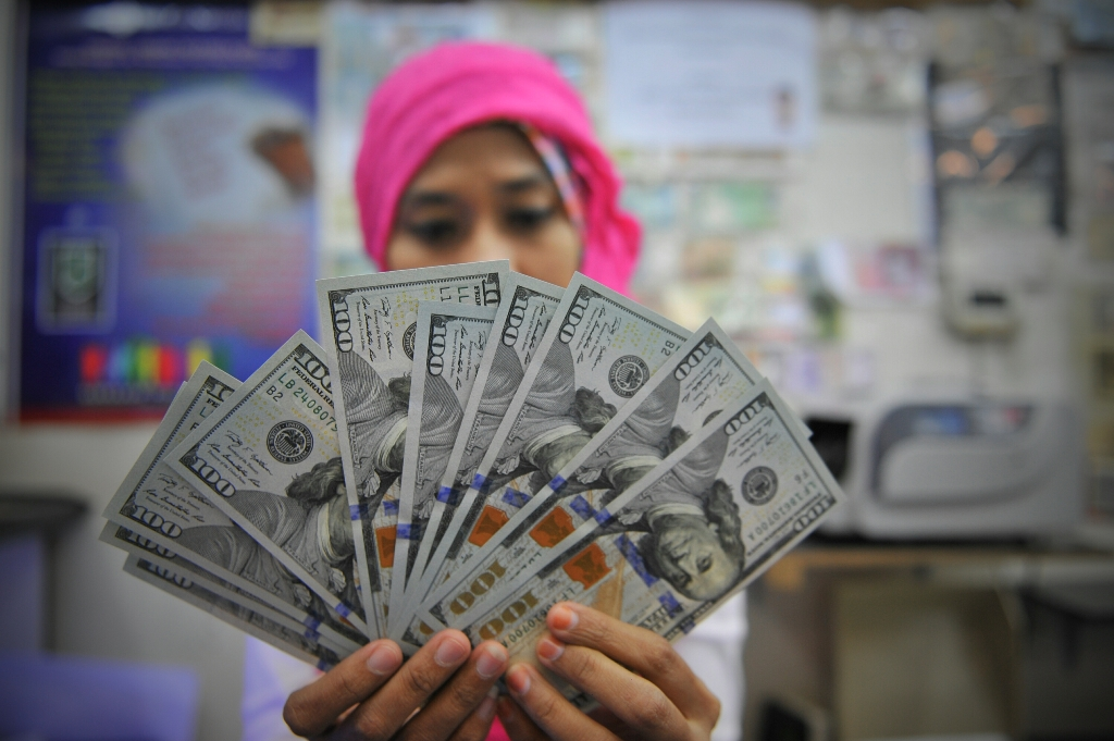 Nilai Tukar Dolar AS Menyusut