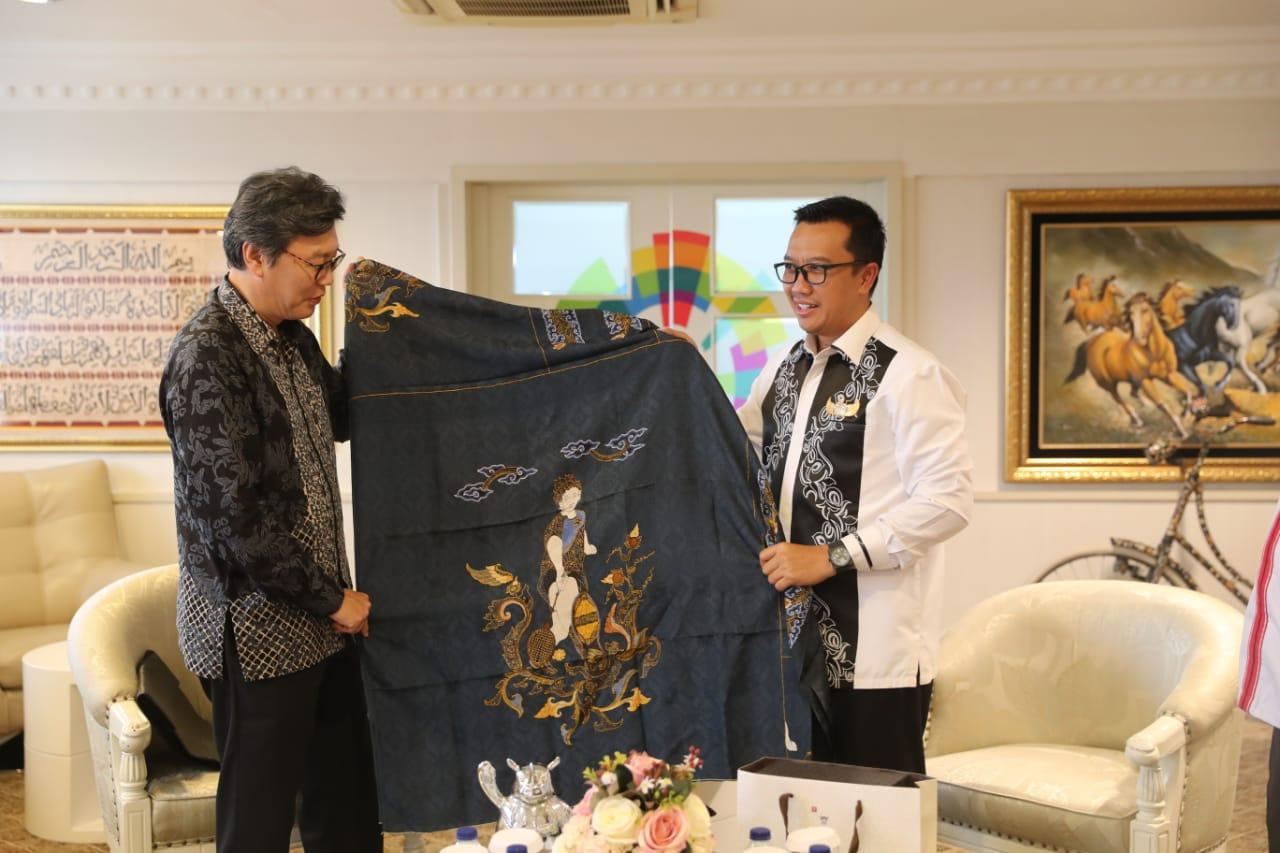 Menpora dan Dubes Korsel Ulas Perkembangan Asian Games 2018