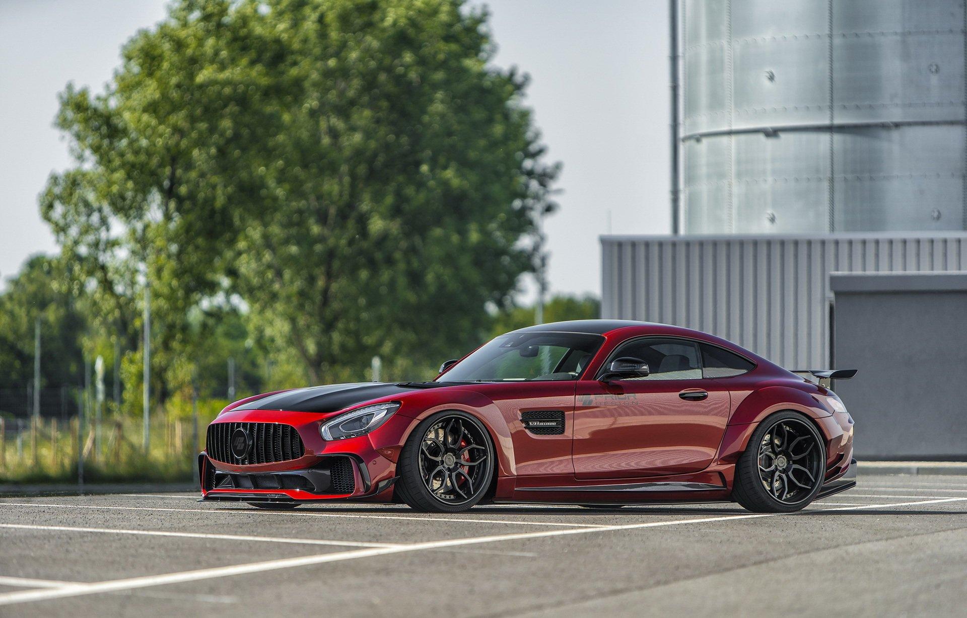 Wajah Bengis Mercedes-AMG GT Versi Prior Design