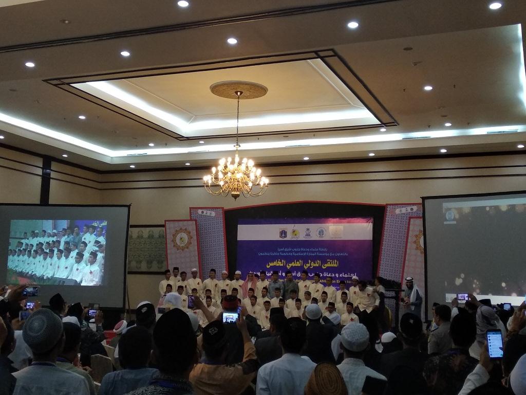 <i>Anies for President</i> Menggema di Pertemuan Ulama dan Dai
