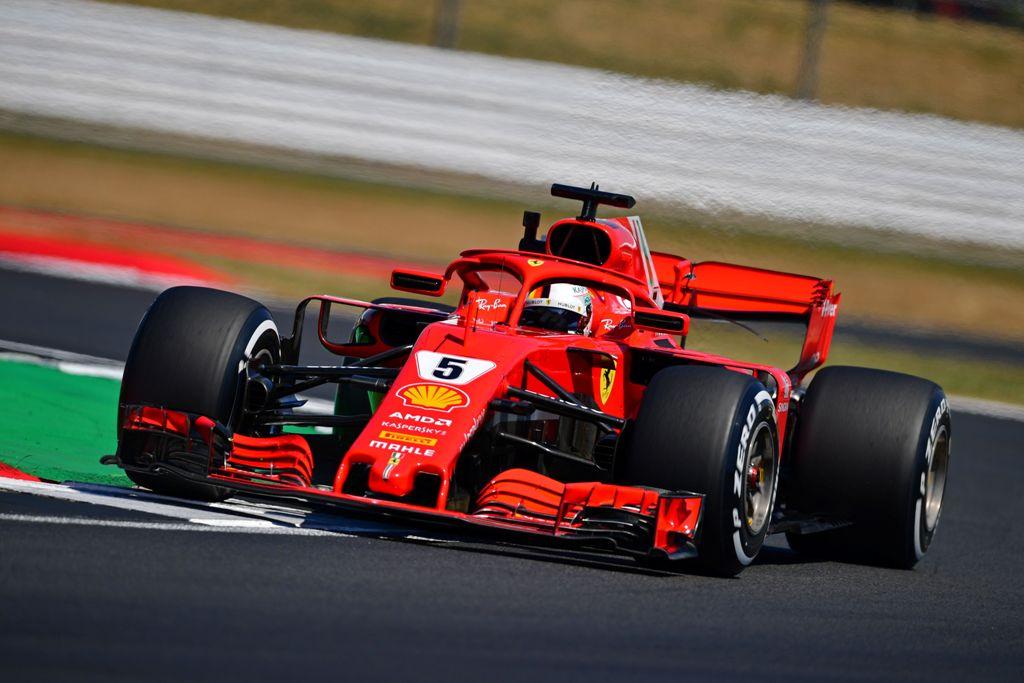Vettel Tercepat di FP2, Verstappen Kecelakaan