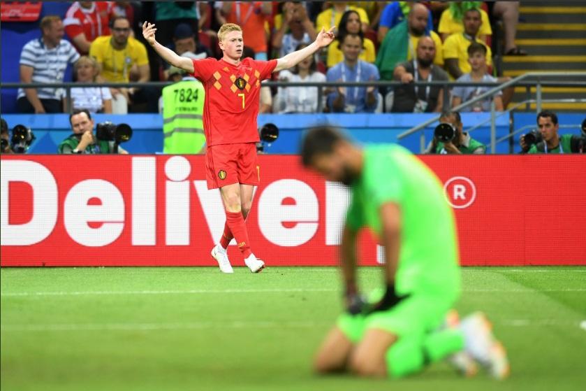 Babak 1: Brasil Tertinggal atas Belgia