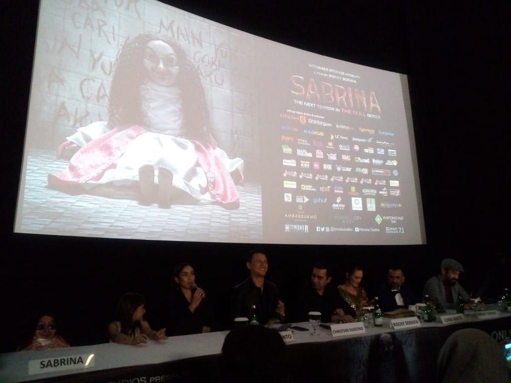 Sara Wijayanto Gunakan Mantra Berbahasa Indonesia di Film Sabrina