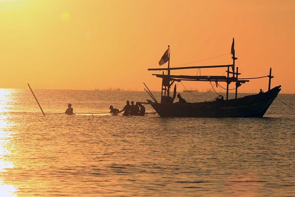Sebagian Nelayan Gunung Kidul Melaut Walau Gelombang Tinggi