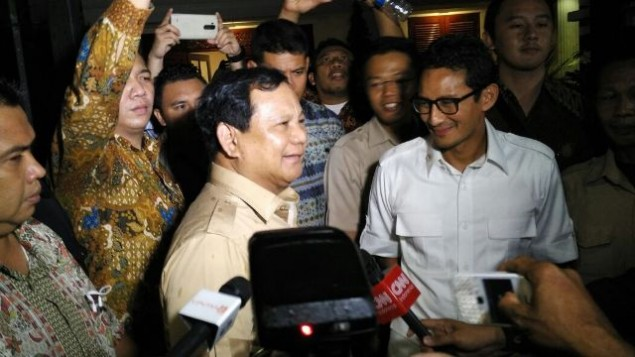 Sandi Ditugaskan Mengerucutkan Nama Cawapres Prabowo