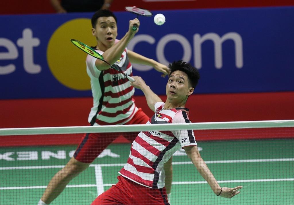 Bekap Rekan Senegara, Marcus/Kevin Lolos ke Final Indonesia Open 2018