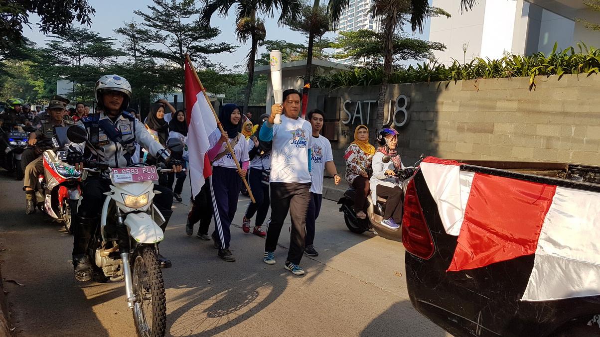 Kedoya Selatan Titik Awal Jelang Obor Asian Games 2018