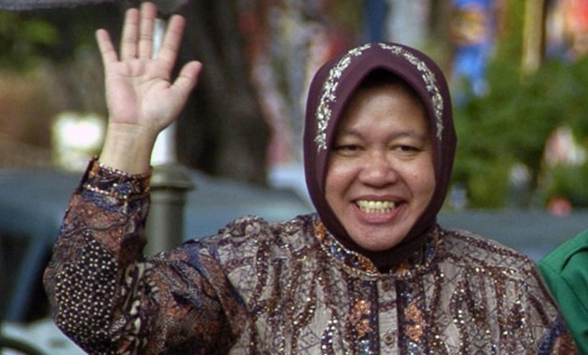 Risma: Surabaya Aman untuk Investasi