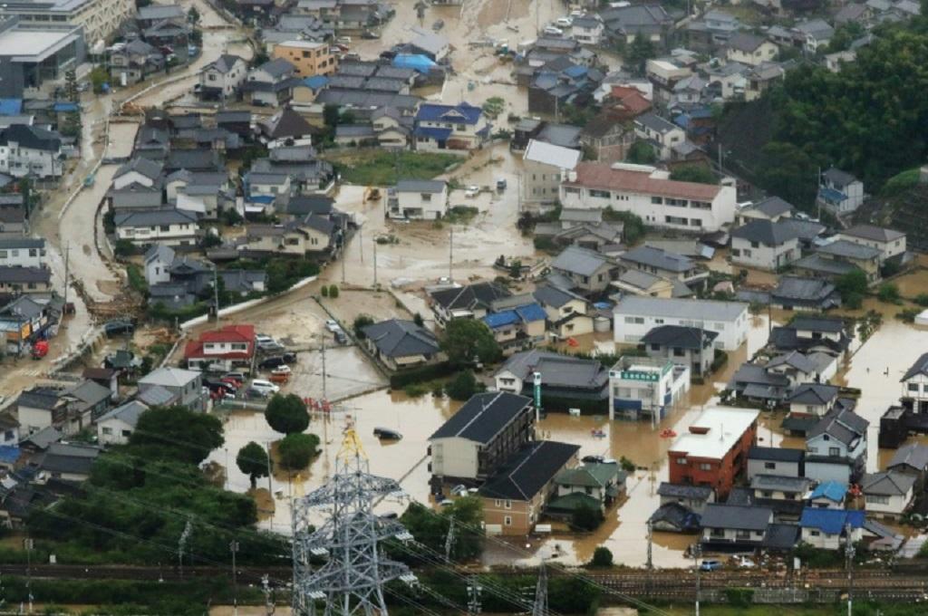 Banjir dan Tanah Longsor di Jepang Tewaskan 60 Orang