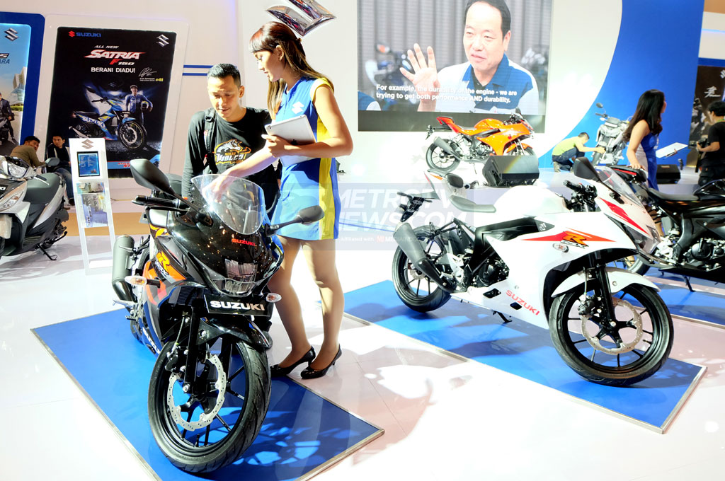 Sepeda Motor Listrik Suzuki Meluncur 2020