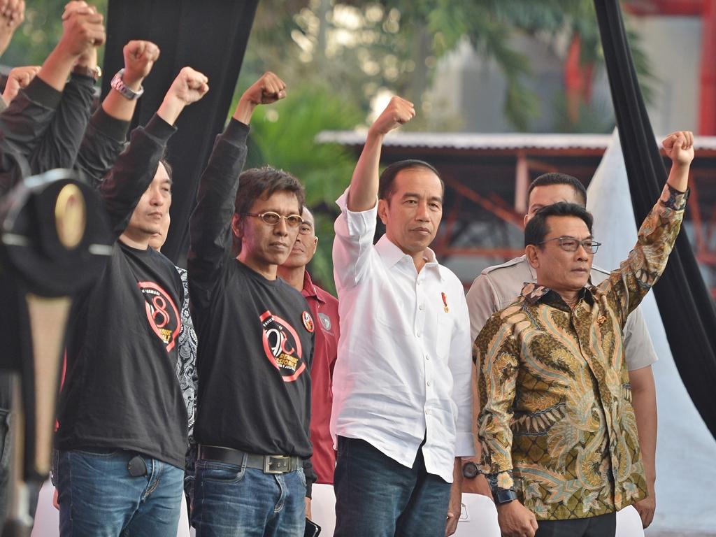 Jokowi 'Pegang' 10 Nama Cawapres