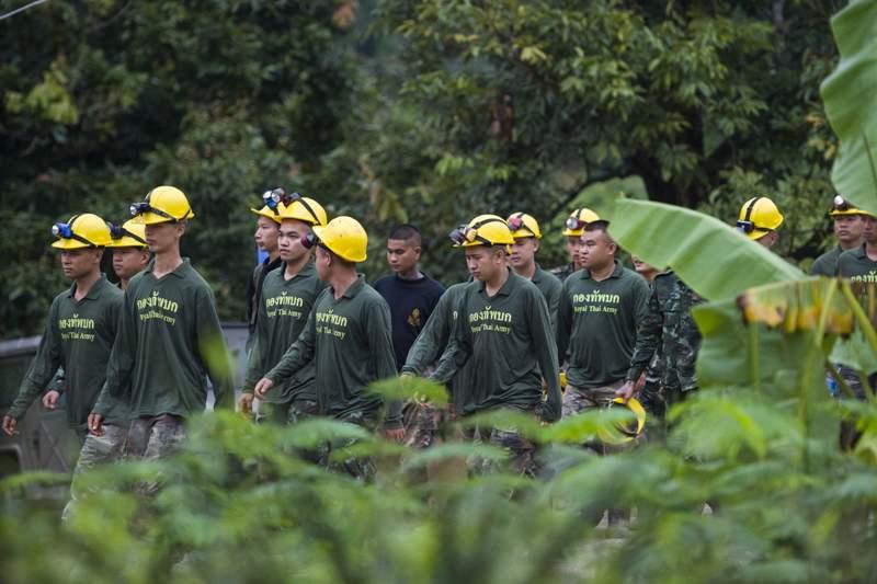 Thai Cave Rescue Face Race Againts Time