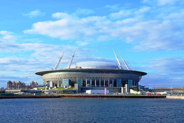 UFO mendarat di Saint Peterburg