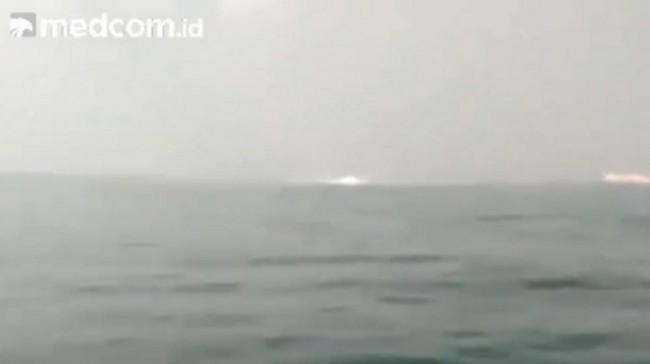 Kebocoran Pipa Gas di Laut Serang Akibat Jangkar