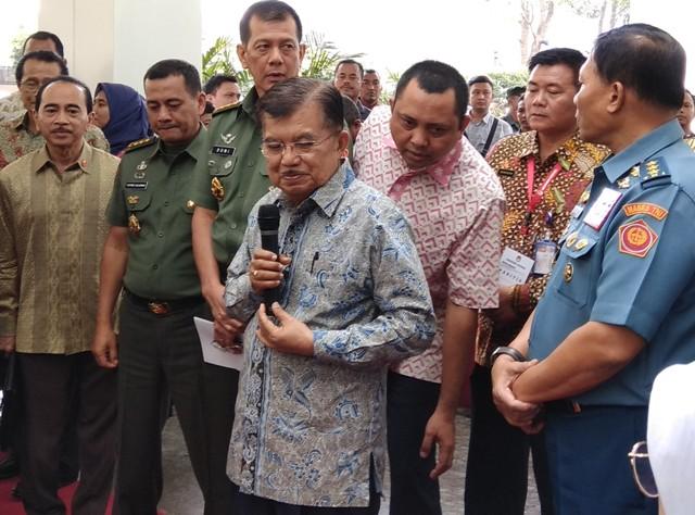 Kalla: Sebagai Wakil Presiden Saya Dukung Jokowi