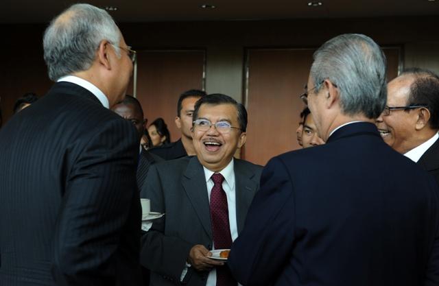 JK tak Ingin Mencampuri Urusan SBY Prabowo