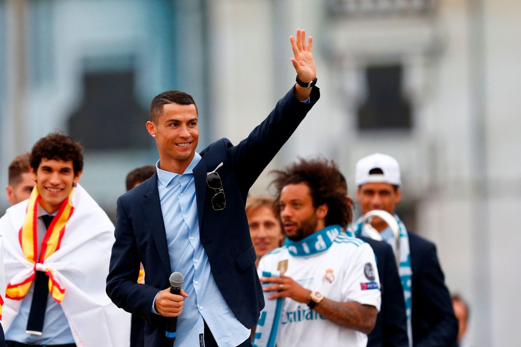 Madrid Resmi Lepas Ronaldo ke Juventus
