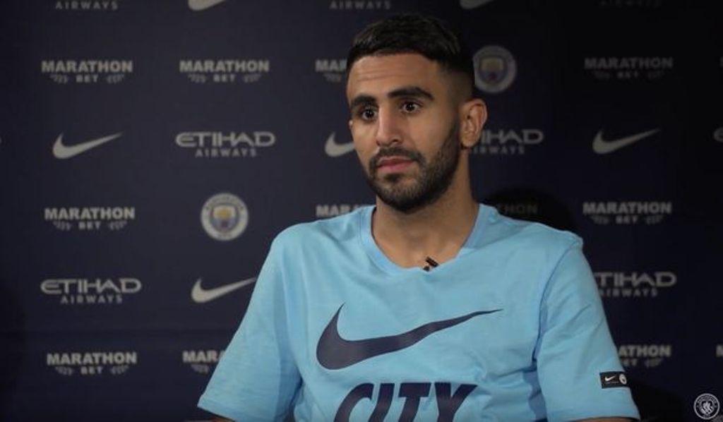 Riyad Mahrez Resmi jadi Milik Manchester City