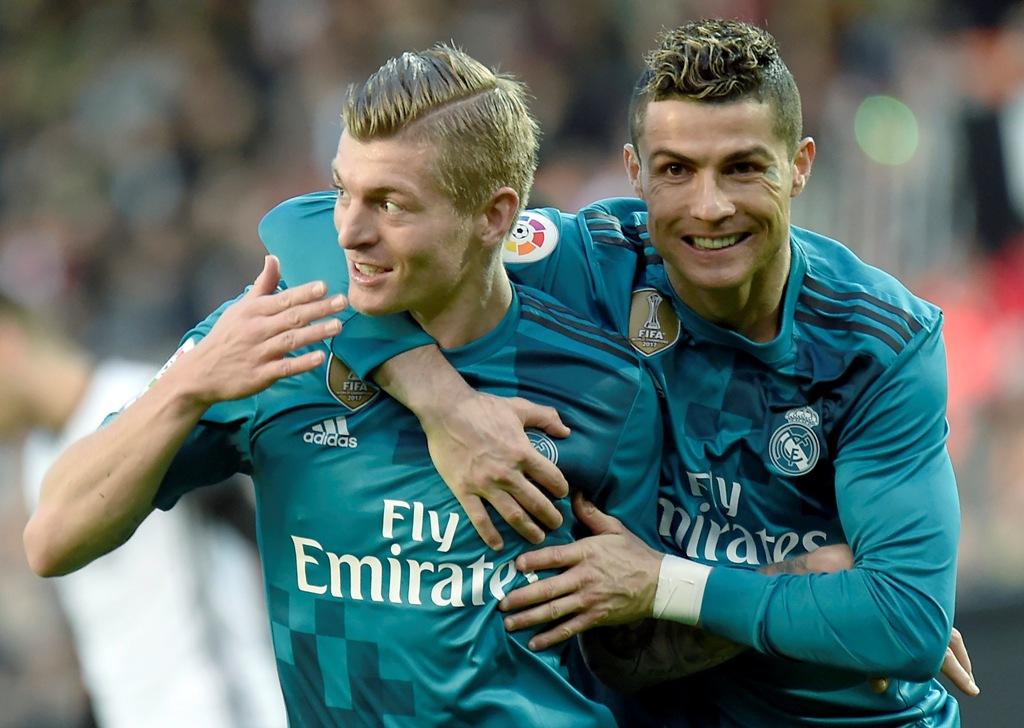 Salam Perpisahan Para Pemain Madrid untuk Ronaldo