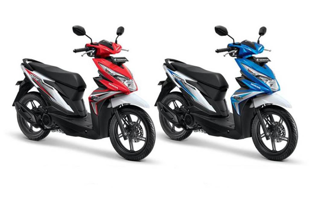 Honda-Yamaha Dominasi Penjualan Motor Semester-1 2018