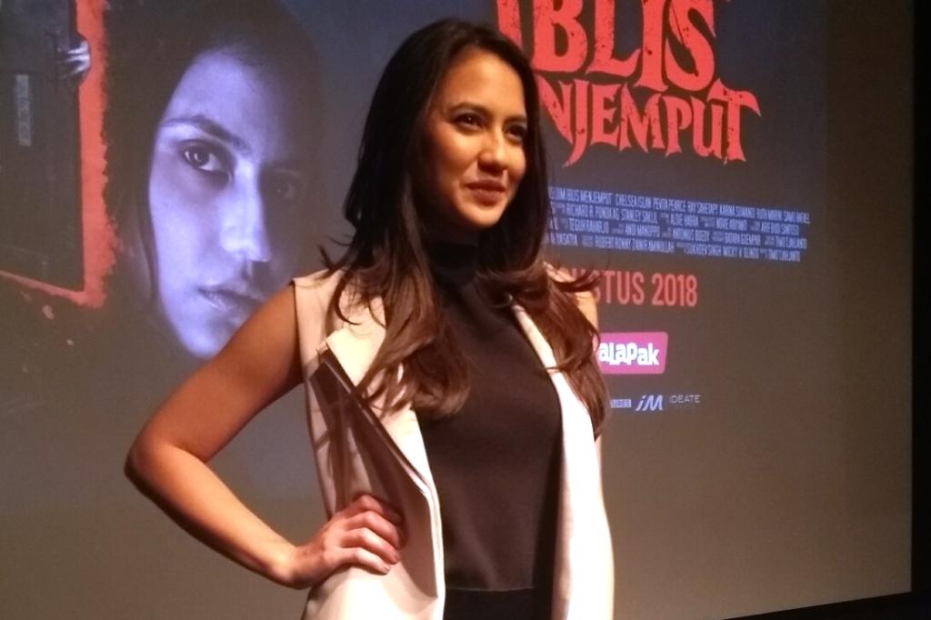 Alasan Pevita Pearce Terima Tawaran Film Horor Sebelum Iblis Menjemput