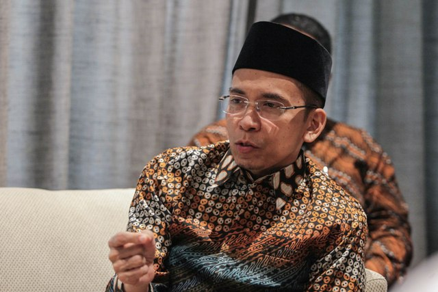 TGB Shortlisted as Jokowi's Running Mate: PDIP