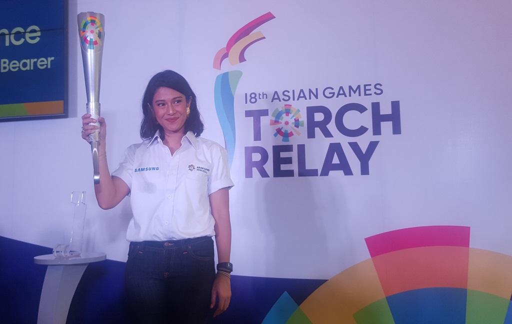 Ditunjuk jadi Pembawa Obor Asian Games, Begini Persiapan Dian Sastro