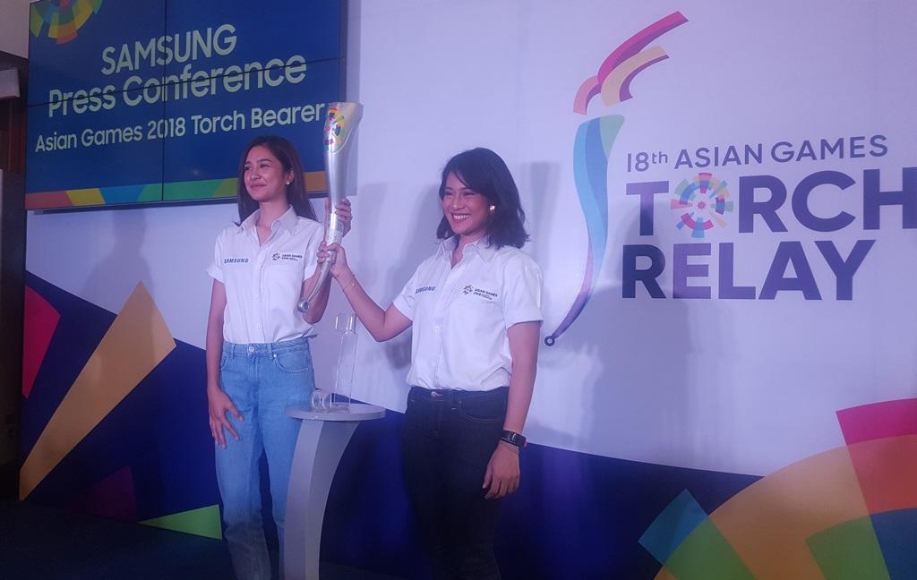 Kesan Mikha Tambayong Ditunjuk jadi Pembawa Obor Asian Games