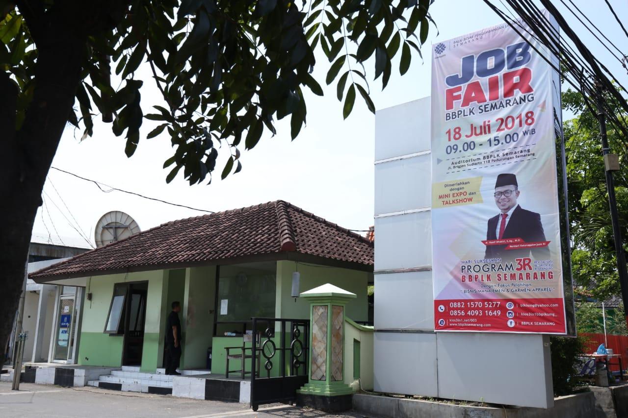 Job Fair BBPLK Semarang Sediakan Seribu Lowongan Pekerjaan