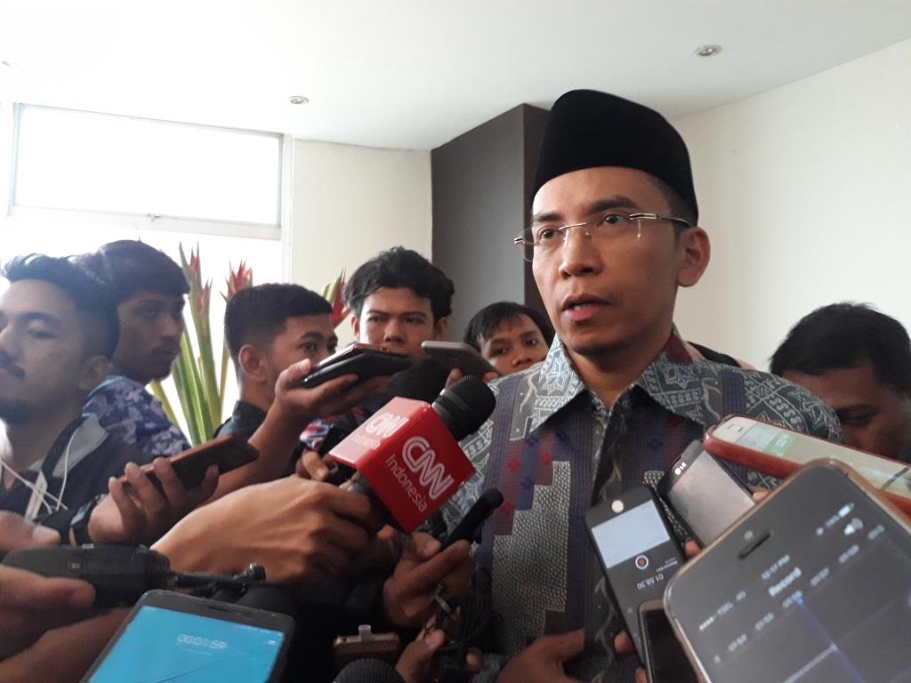 TGB Merasa Terhormat jika Dipilih Mendampingi Jokowi