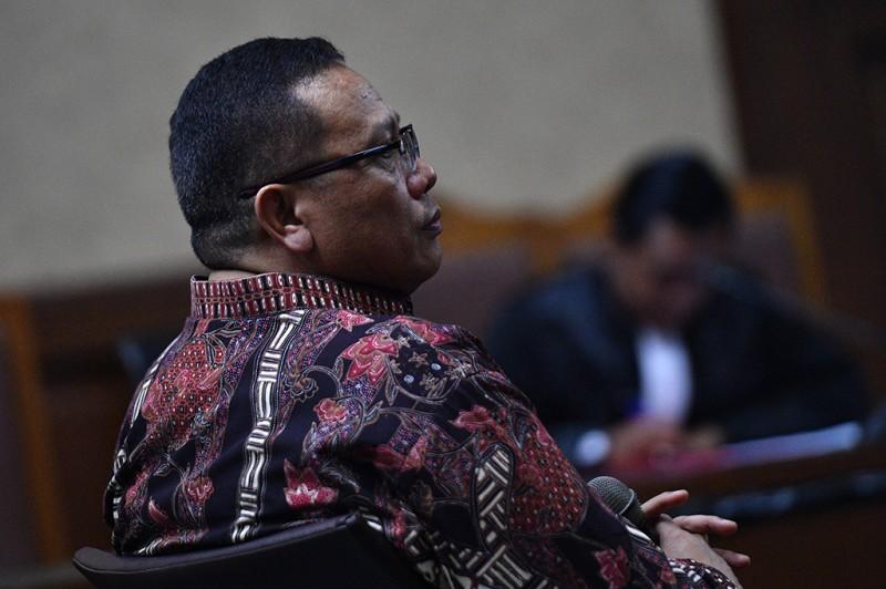 Eks Pejabat Kemendagri Didakwa Terima Suap Rp4,2 Miliar
