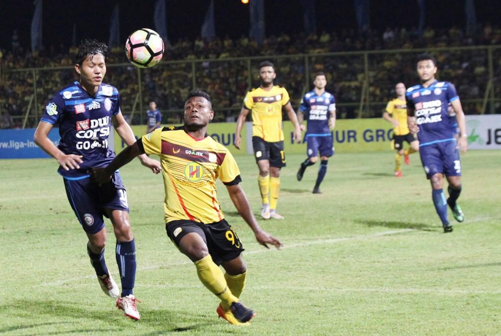 Barito Putera Ditahan Imbang Arema FC