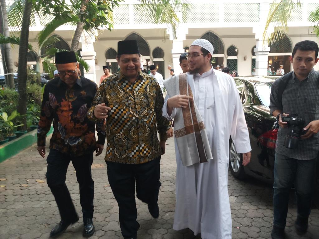Airlangga Tetap Dukung Jokowi Meski tak Jadi Cawapres