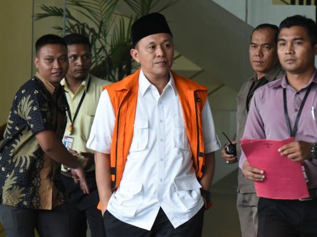 Jaksa Tuntut Hakim Cabut Hak Politik Bupati Mustafa