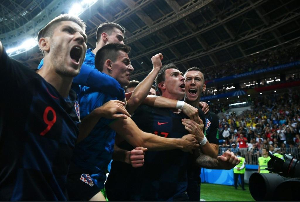Benamkan Inggris, Kroasia Tantang Prancis di Final