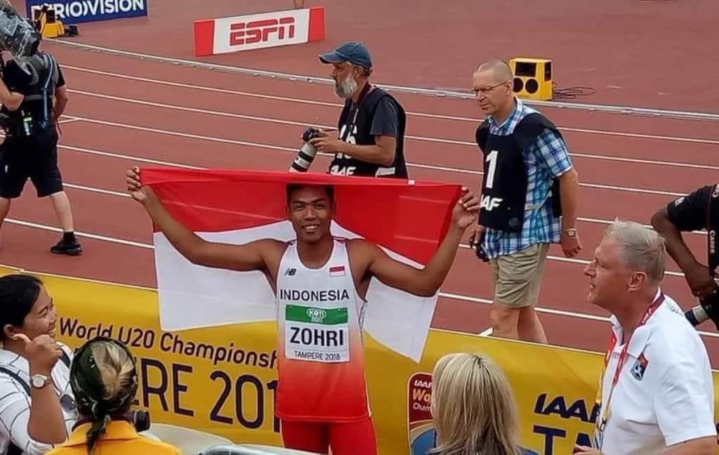 Pelari Indonesia Sabet Gelar Juara di Kejuaraan Dunia