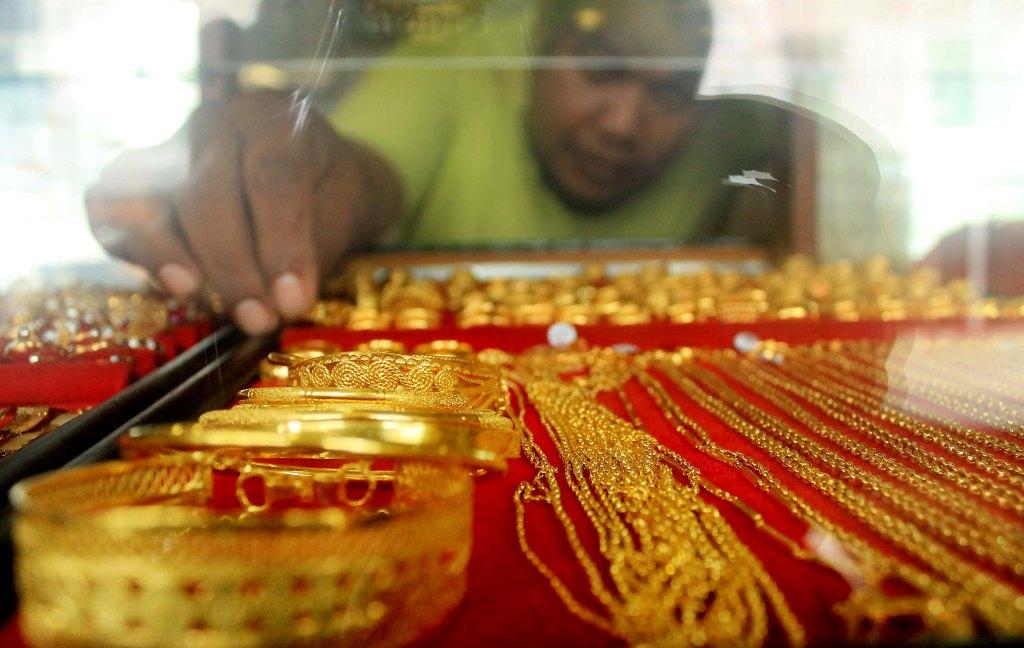 Emas Antam Turun Rp2.000/Gram