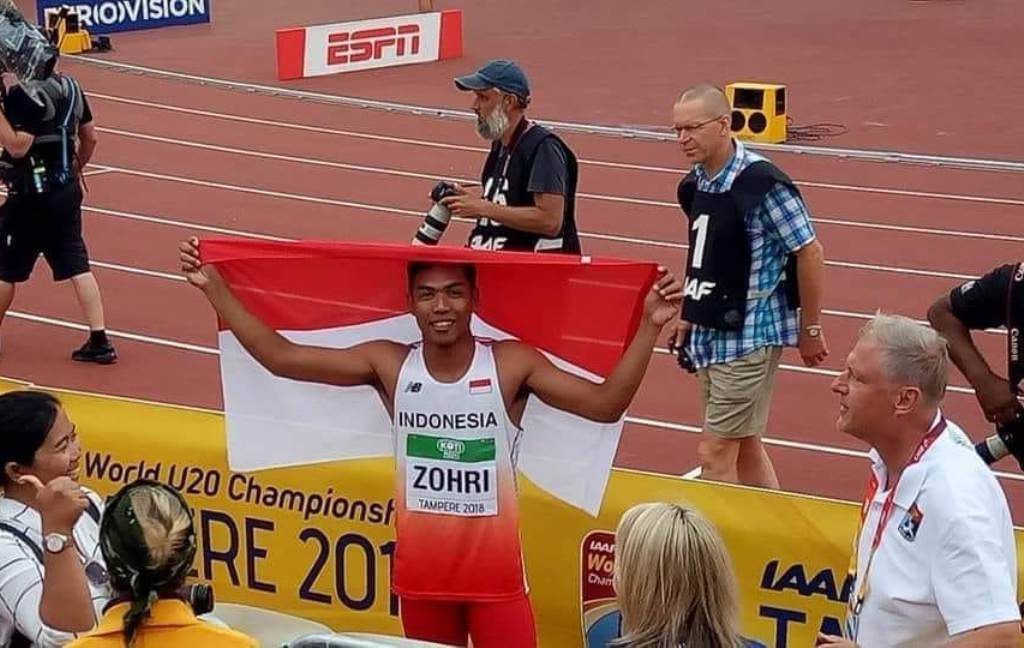 Lalu Muhammad Zohri Juara Dunia, Presiden Jokowi dan Menpora Ucapkan Selamat