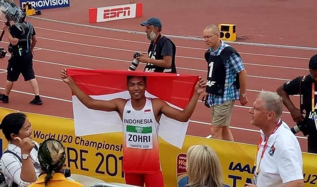 Komisi X DPR Apresiasi Prestasi Zohri Juara Dunia Atletik