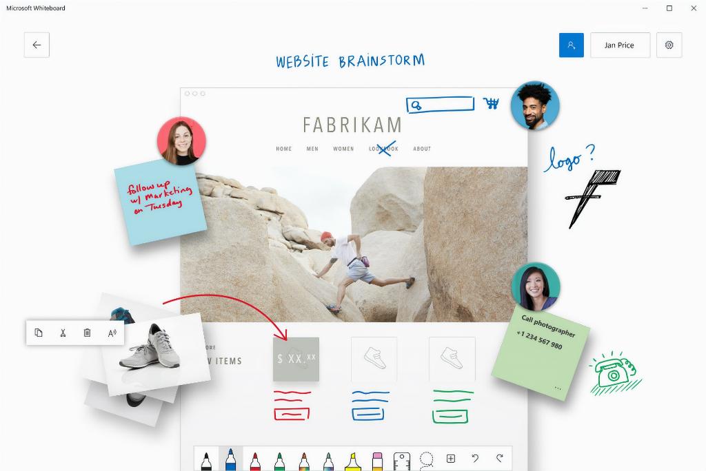 Microsoft Bawa Whiteboard ke iOS