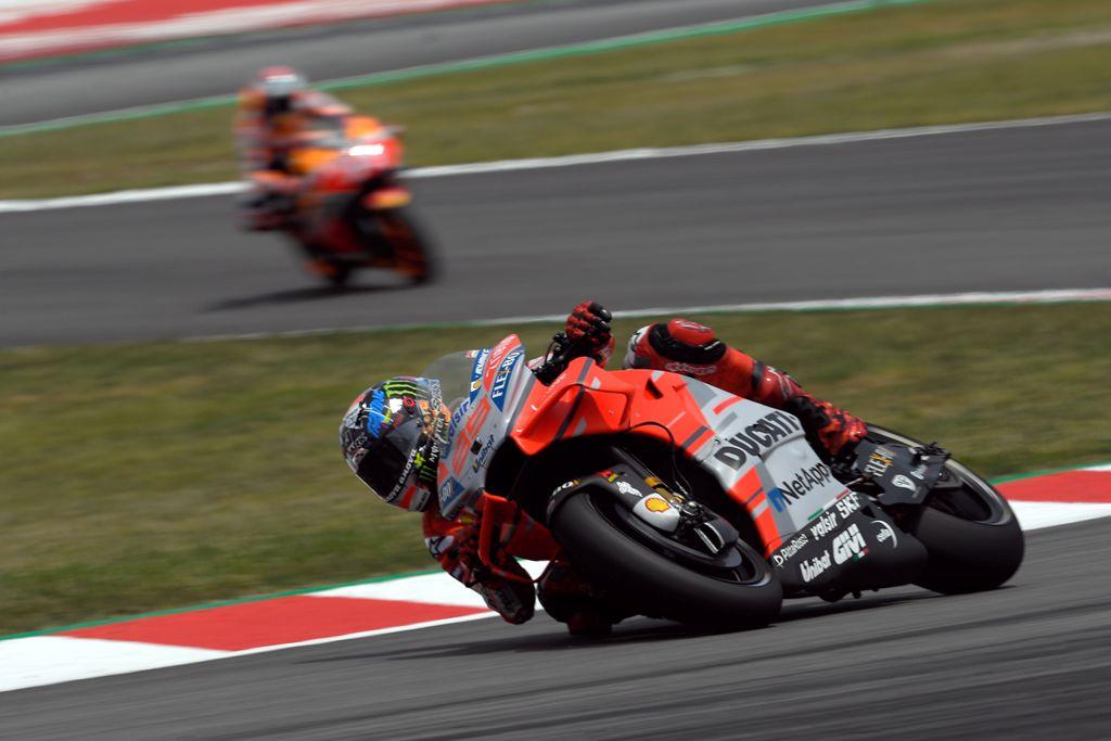 Iannone & Lorenzo Tercepat di Hari Pertama Latihan Bebas MotoGP Jerman