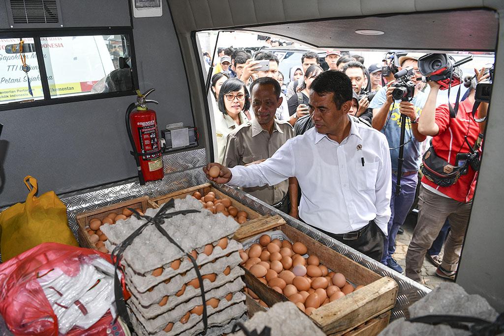 Stabilkan Harga Telur, Kementan Gelar Operasi Pasar