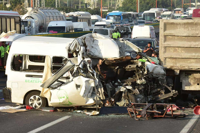 13 Tewas akibat Kecelakaan di Jalan Raya Meksiko