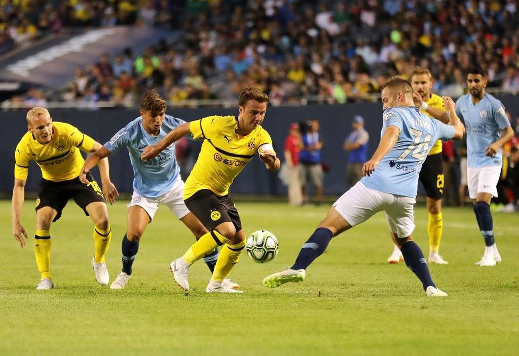Manchester City Menyerah dari Dortmund