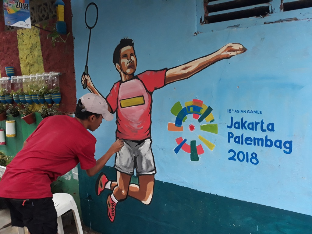 Kampung Markisa Disulap Jadi Destinasi Wisata Bernuansa Asian Games