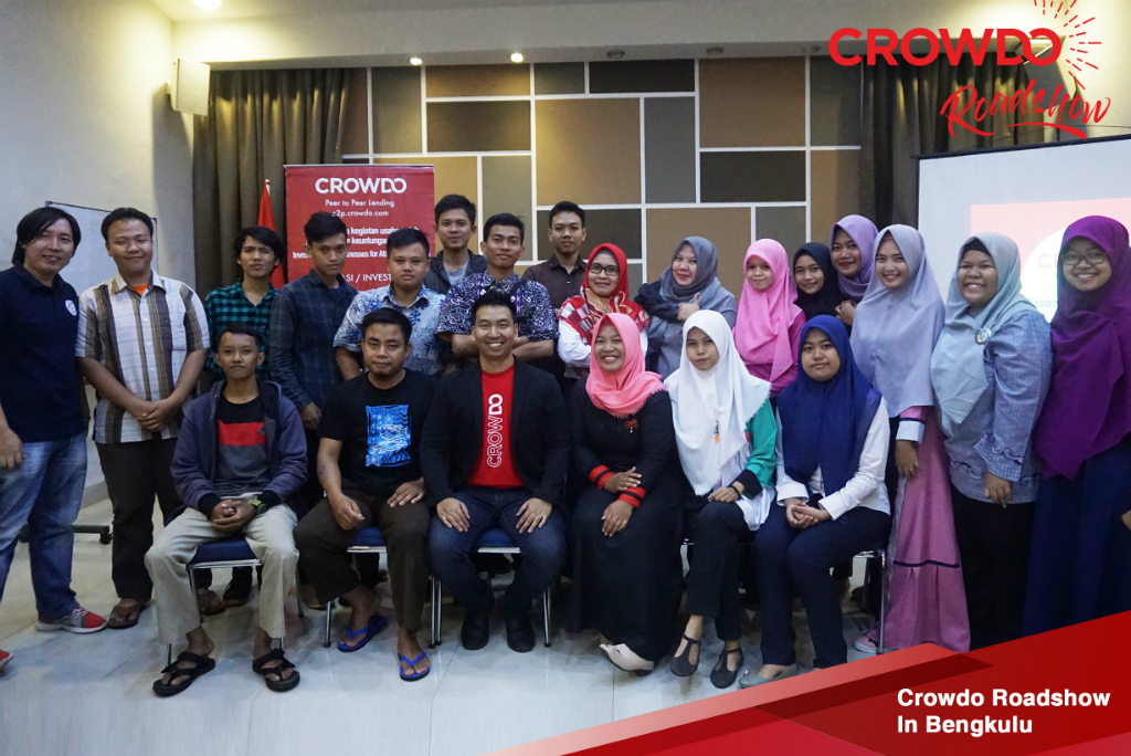 Edukasi Inklusi Keuangan Crowdo Digelar di Delapan Kota