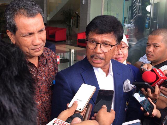 Ribuan Caleg Partai Kawal Jokowi